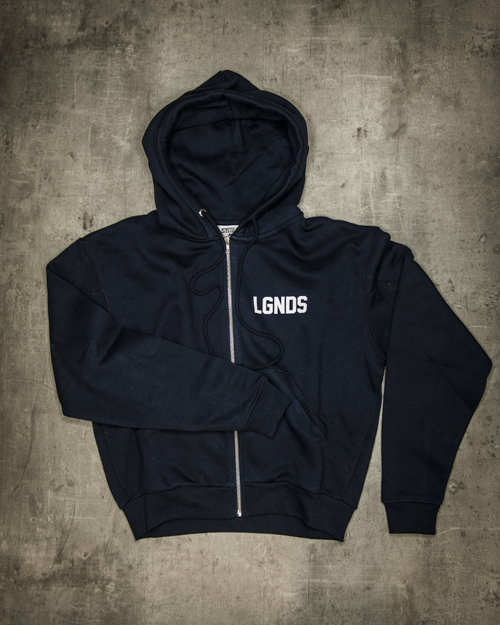 Streetwear LGNDS the legends frankfurt bar club hoodie blau 131