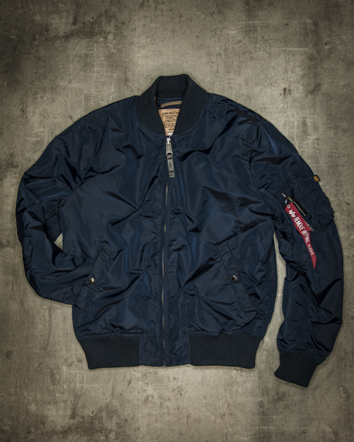 Streetwear LGNDS the legends frankfurt bar club Bomberjacke blau 115
