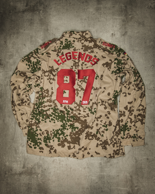 Streetwear LGNDS the legends frankfurt bar club Army Camouflage 06