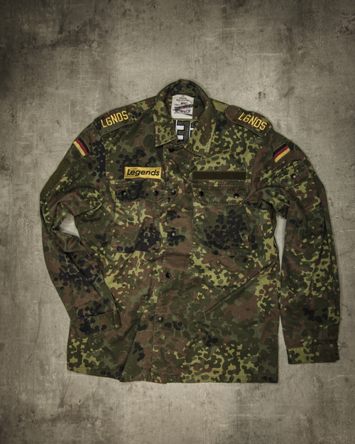 Streetwear LGNDS the legends frankfurt bar club camouflage 124
