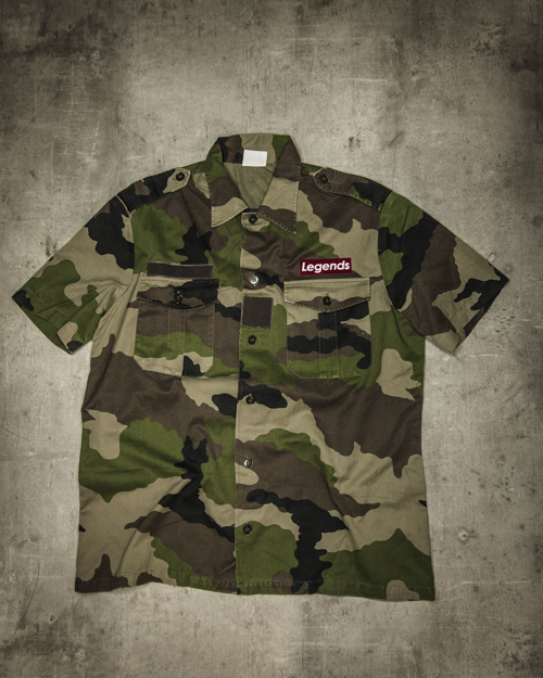 Streetwear LGNDS the legends frankfurt bar club camouflage Kurzarm 126