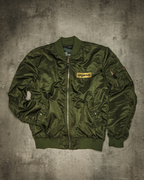 Streetwear LGNDS the legends frankfurt bar club Bomberjacke 118