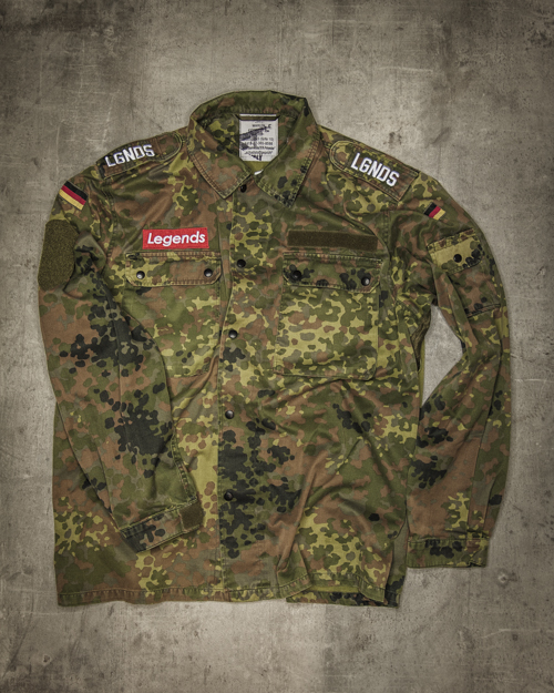 Streetwear LGNDS the legends frankfurt bar club Army Camouflage