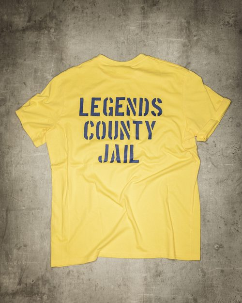 Streetwear LGNDS the legends frankfurt bar club shirt yellow 42