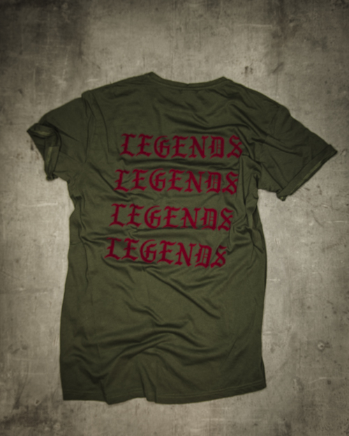 Streetwear LGNDS the legends frankfurt bar club shirt 19