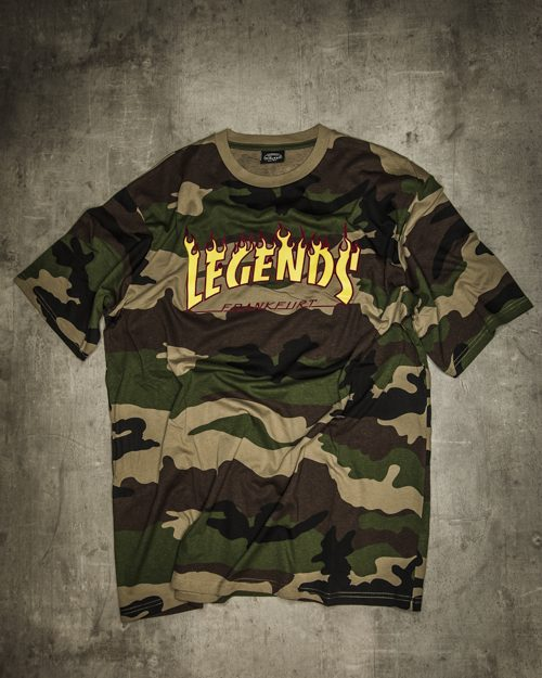 Streetwear LGNDS the legends frankfurt bar club shirt 44