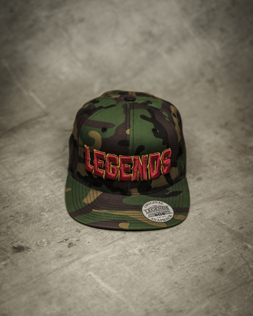 Streetwear LGNDS the legends frankfurt bar club Cap Muetze 63